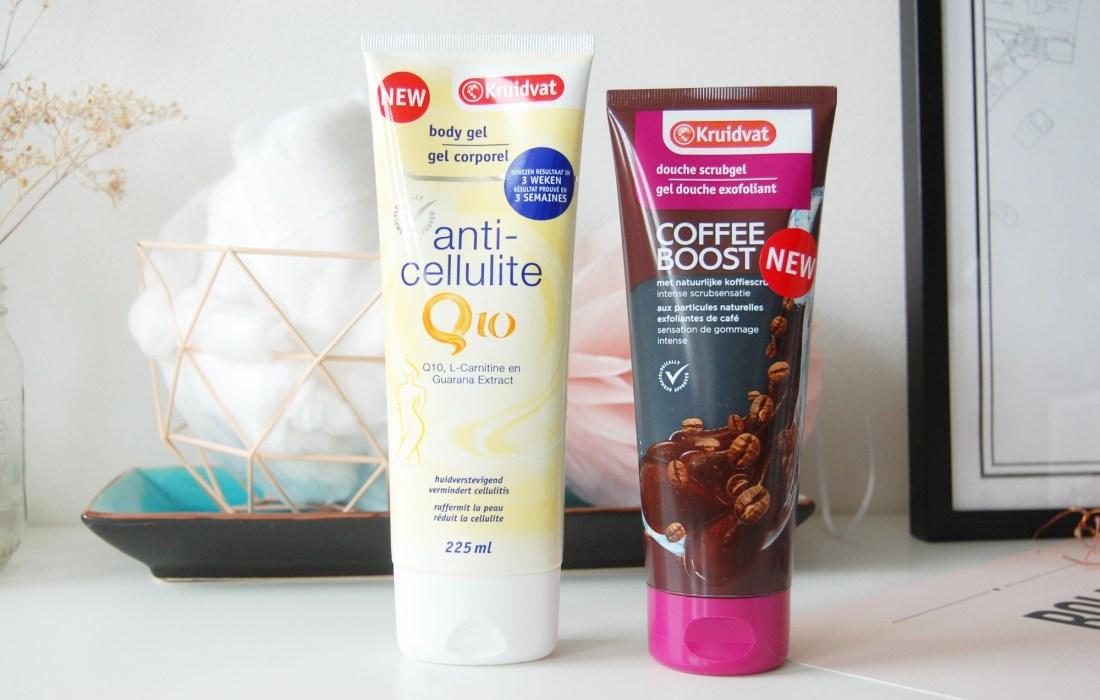 Kruidvat goodies: Anti-cellulite en Coffee Boost Scrub