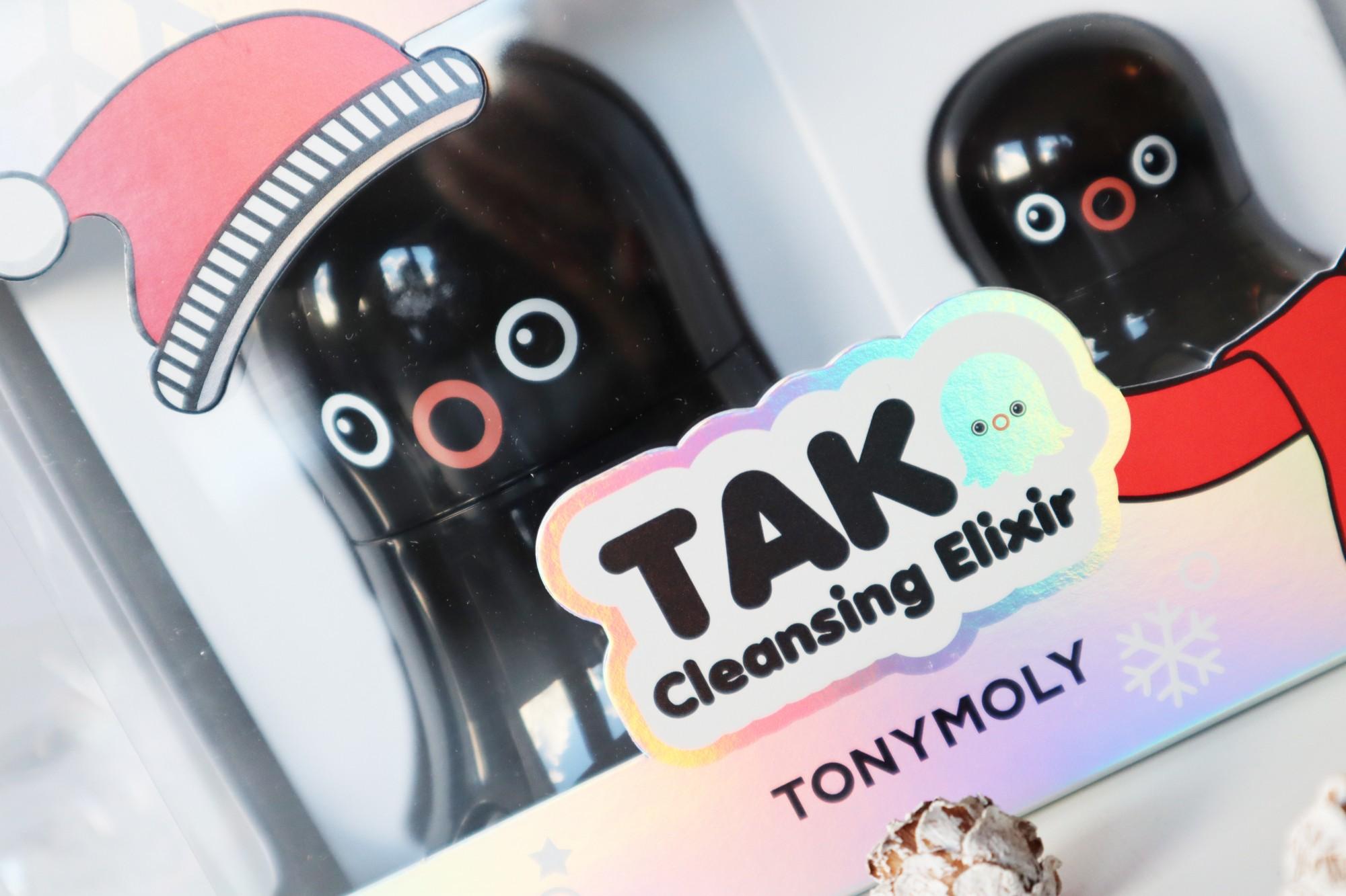 Tonymoly Tako Cleansing Elixer Holiday set