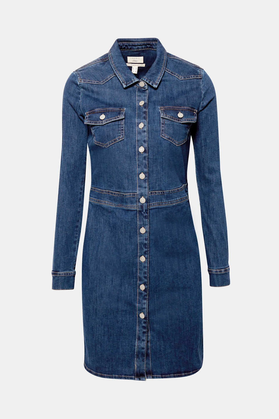denim jurk