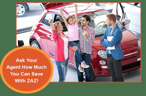 Auto Insurance Discounts with ZAZ GPS