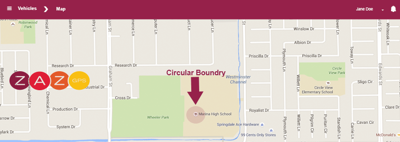 Boundries/Geofences