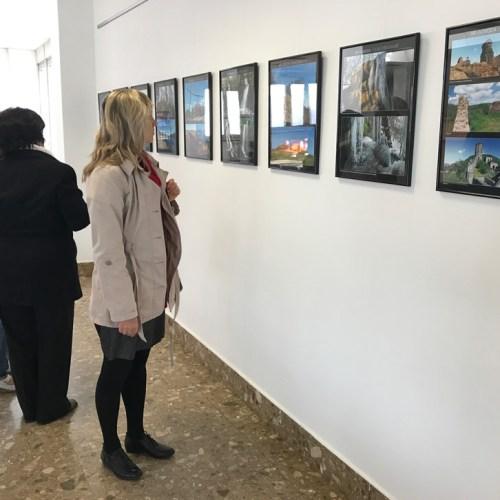 Vernisáž výstavy České středohoří v Litoměřické nemocnici