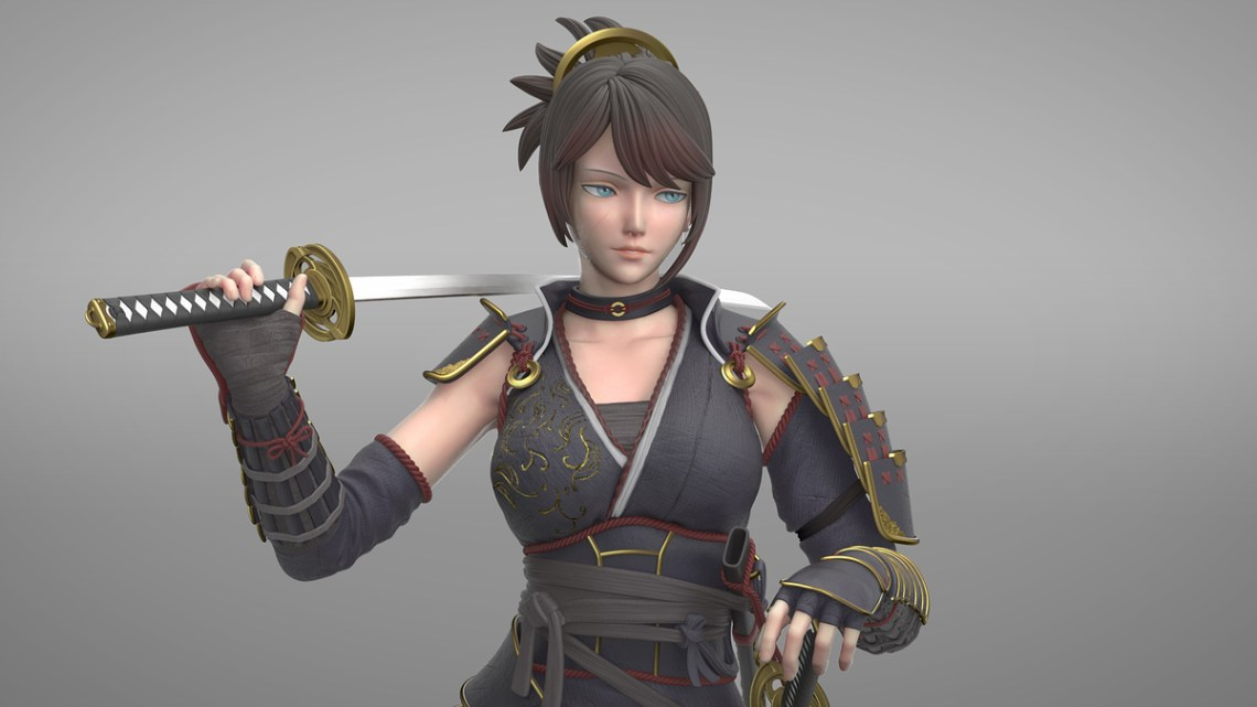 SamuraiGirl_closeup 2