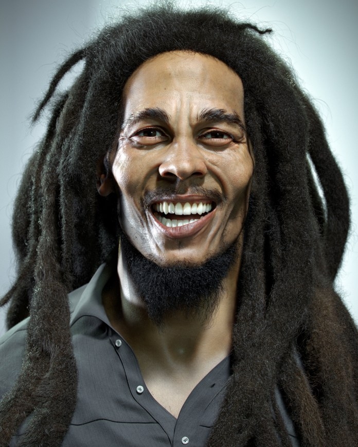 Photorealistic Bob Marley - ZBrushCentral
