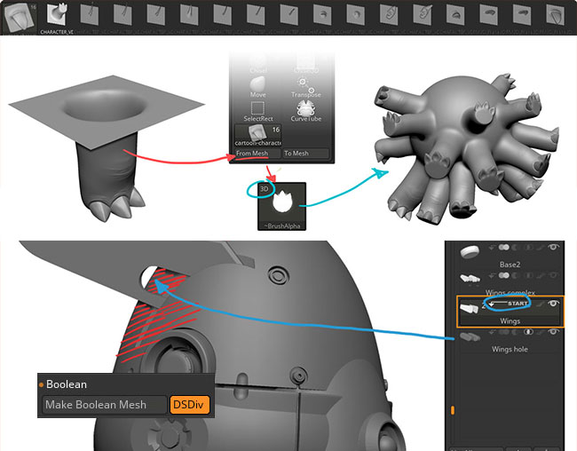 ZBrush 4R8 is out | ZBrush Guides