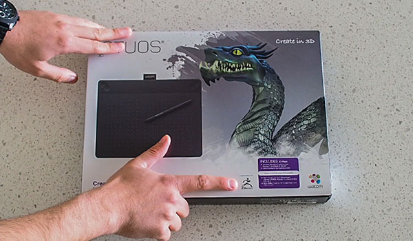 Wacom Intuos 3D Unboxing | ZBrush Guides