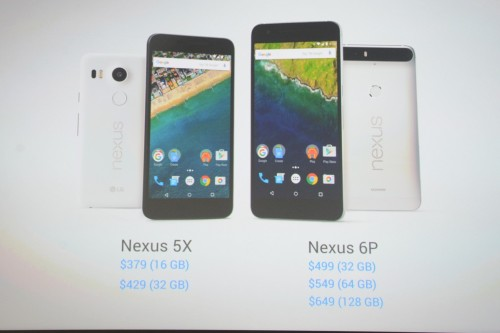 新Nexus5Xの価格