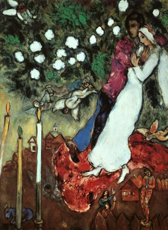 Marc Chagall, The Three Candles