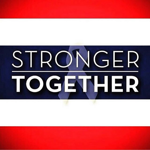 #StrongerTogether