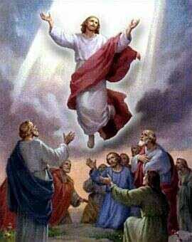 Nanebovstúpenie Pána - slávime na pamiatku vyzdvihnutia Pána Ježiša Krista v oblaku do neba