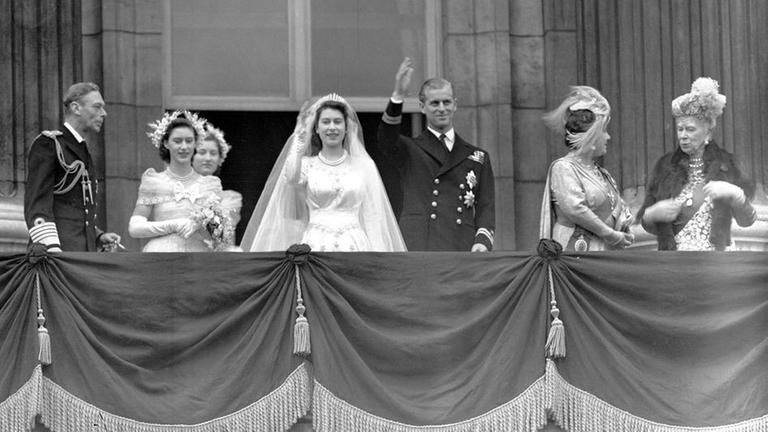 Queen Elizabeth And Prince Philip Celebrate Their 70th Wedding