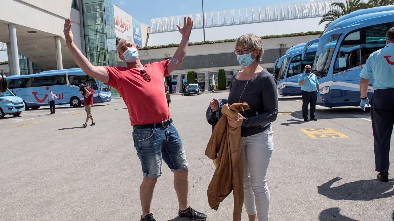 deutsche test touristen erste mallorca