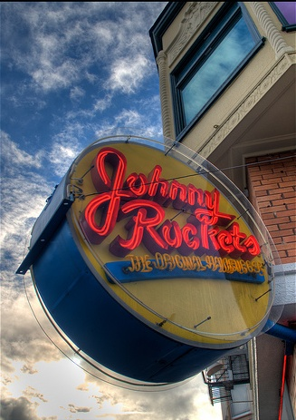 Johnny Rockets Six Flags