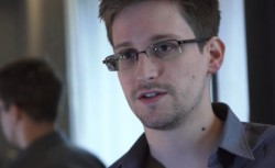Edward Snowden (Screenshot: News.com, via The Guardian)