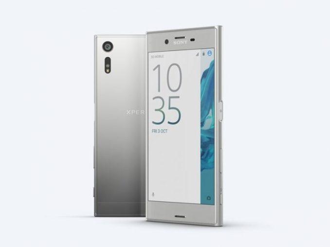 Sony Xperia XZ (image: Sony)