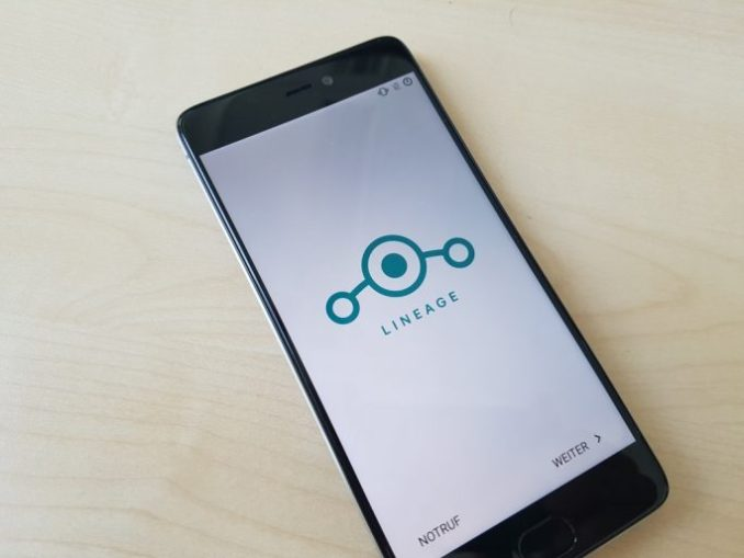 MI 5: the LineageOS Setup Wizard is restarted (image: ZDNet.de)