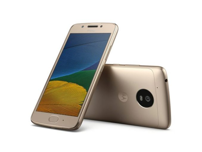 Moto G5 in fine gold (image: Lenovo/Motorola)