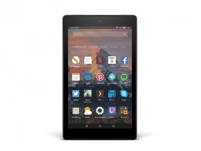 Amazon fire HD 8 (image: Amazon)