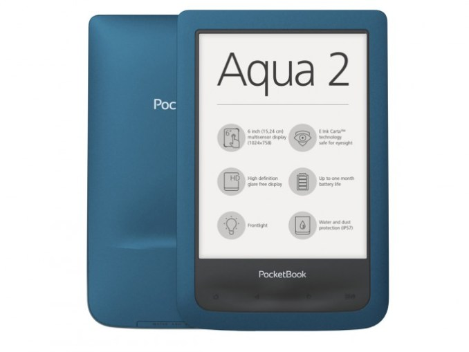 E-reader PocketBook Aqua 2 (image: PocketBook)