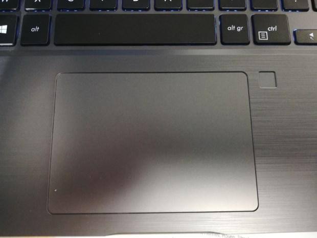 Avis Patrice Testeurs Pros PC portable AsusPro P5440 - touchpad