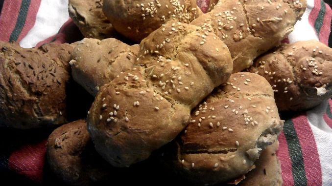 domácí chlebové housky