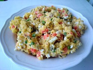 bramborový salát s majonézou