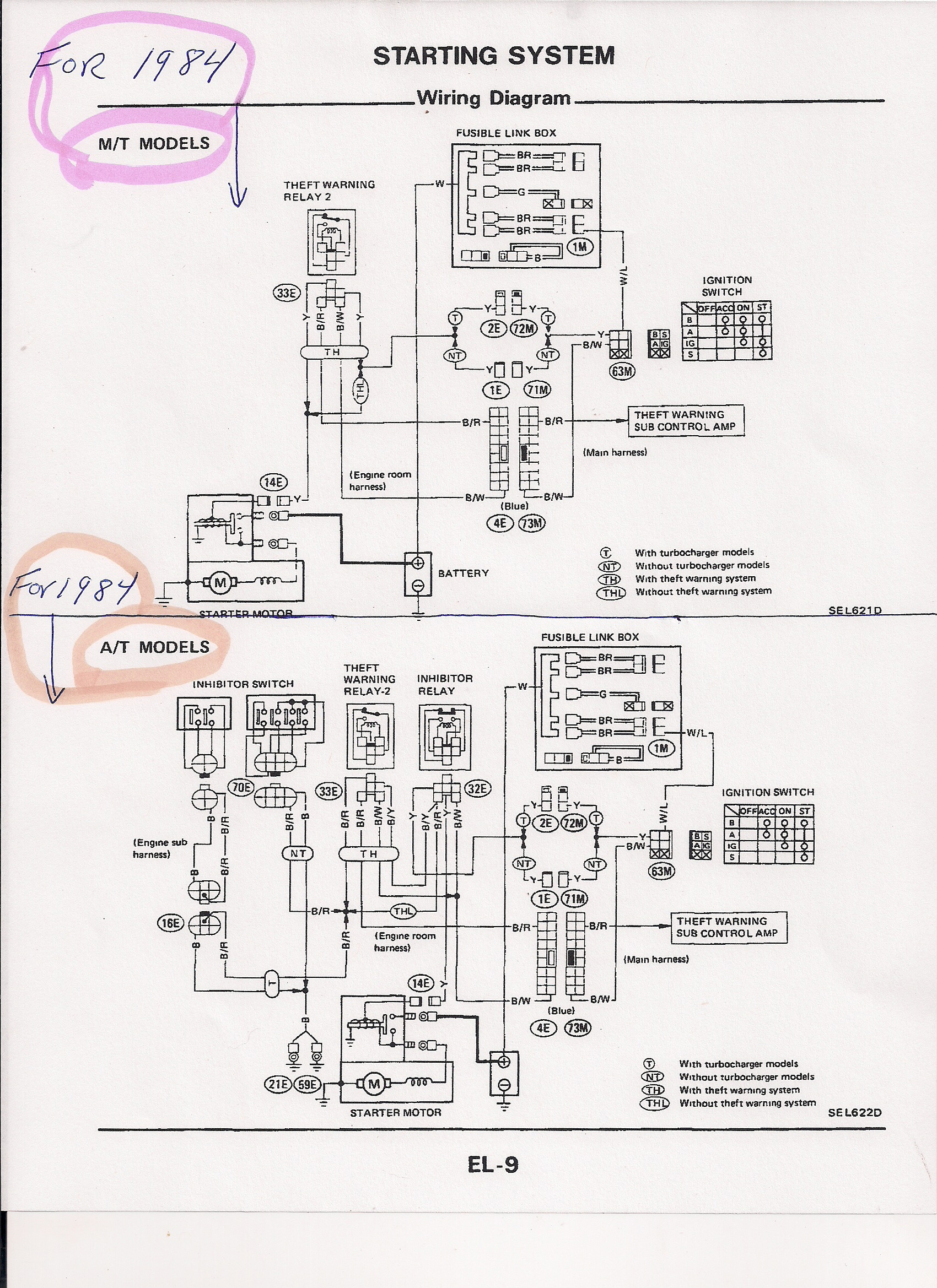 Toyota Tercel Ignition Wiring Harness Diagram
