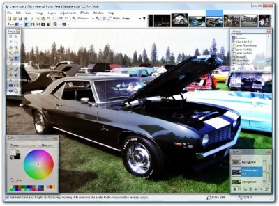 paint.NET free photo editor