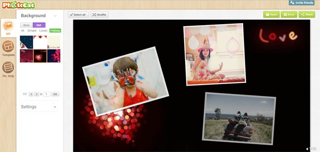 photocat online collage maker