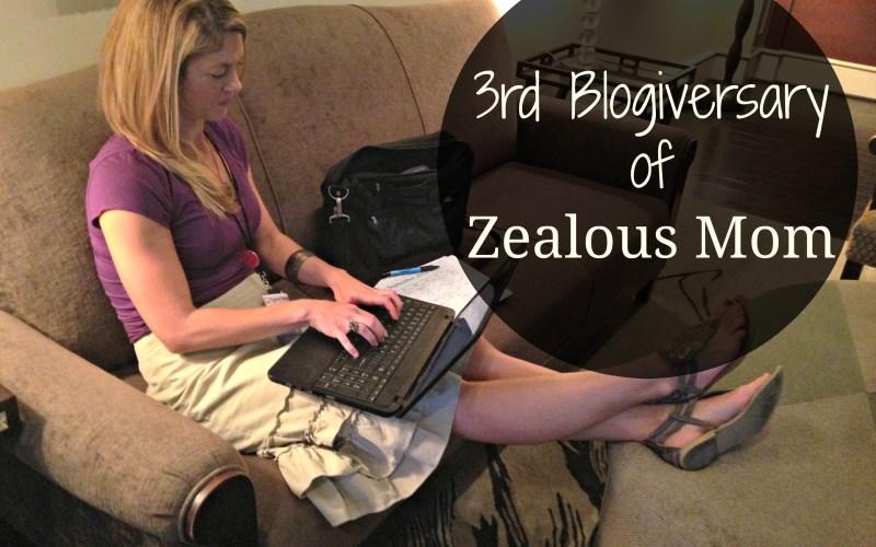 3rd Blogiversary #blogging