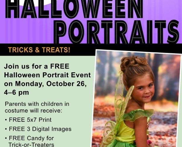 FREE Event at Portrait Innovations: Monday, 10/26/15! #HalloweenPortraits