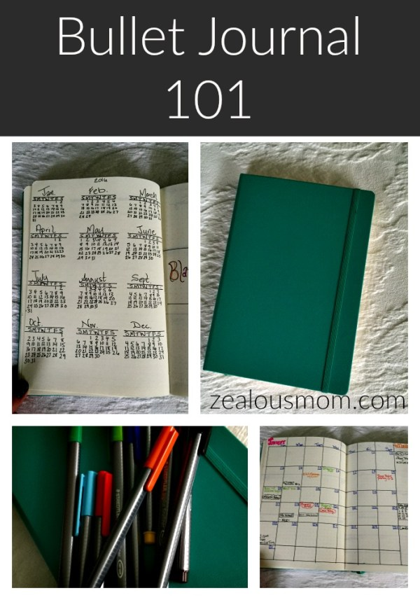 Bullet Journal 101: Interested in Bullet Journaling? This post will help you get started and well on your way. Beware though! It becomes addictive. #bulletjournal #bujo