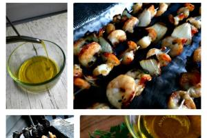 Start your summer right with grilled shrimp skewers
