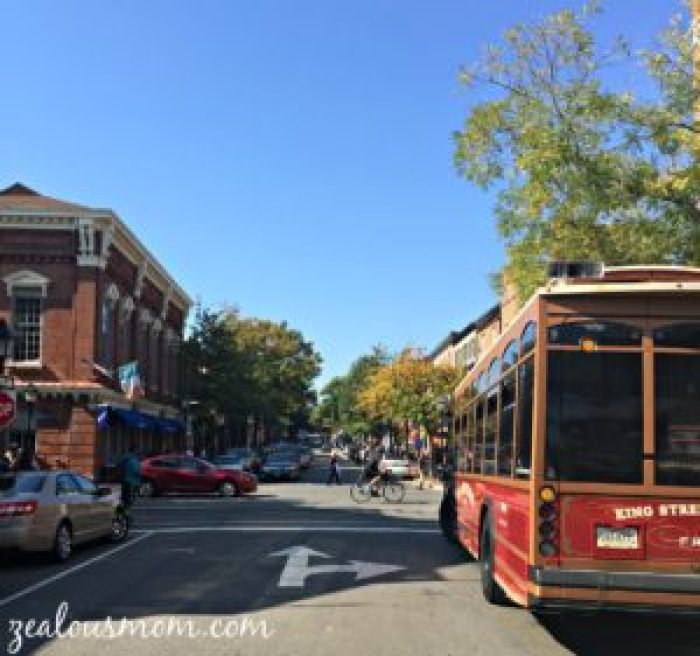 Enjoy the beauty and history of Old Town Alexandria on the waterfront. @zealousmom.