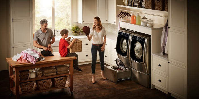 You've got to try Best Buy's LG TwinWash system. It offer the best of both laundry worlds! @zealousmom.com #ad
