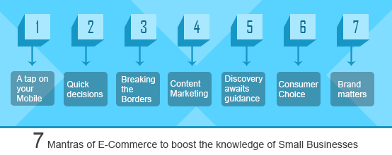 Seven Mantras of E-Commerce to boost the knowledge of Small Businesses