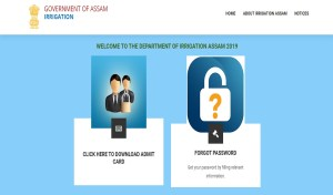 Assam Irrigation Department Admit Card 2020, Exam Schedule released.