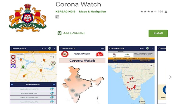 Karnataka Covid 19 Quarantine Tracker
