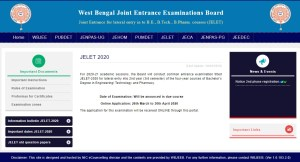 WBJEE JELET Admit Card 2020 download @wbjeeb.nic.in portal