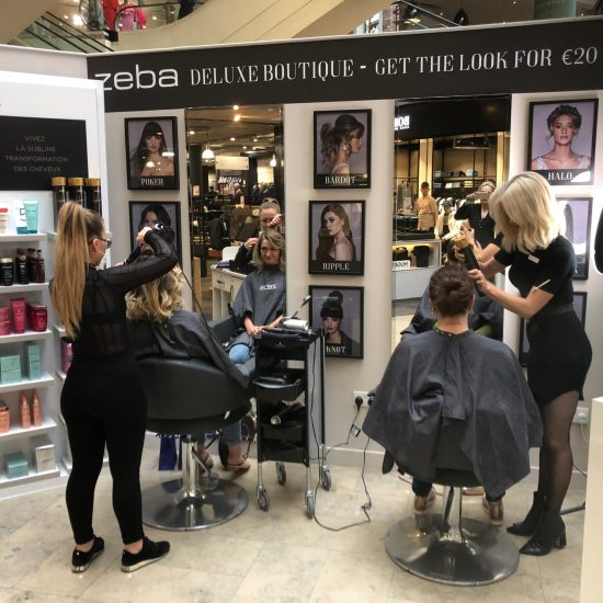 arnotts team delux boutique hair care and blowdries
