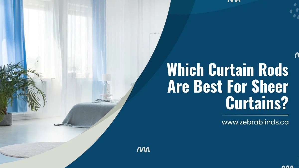 which curtain rods are best for sheer