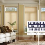 Best Ideas For Window Coverings For Large Windows