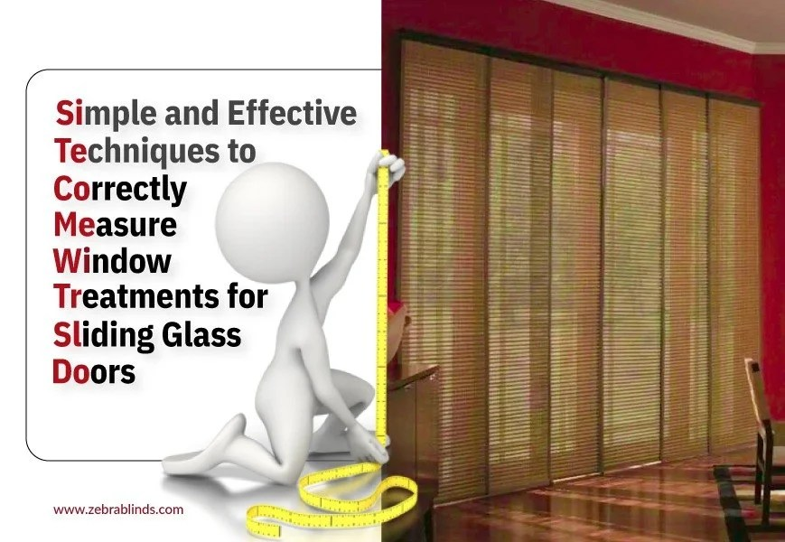 how to measure drapes for sliding glass