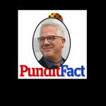 PunditFact logo with Glenn Beck inset
