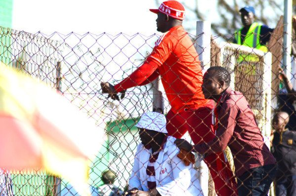 Disturbed fans after Nkana loss to Wanderers