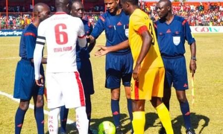 Nkana vs Power Dynamos in the first round of the MTN FAZ 2016 season