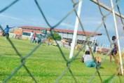 Training pitch at Arthur Davies