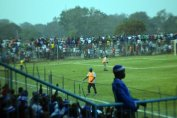 Abandoned game between Kabwe Warriors and Nkana after the fans threw missiles
