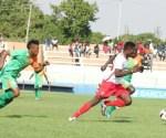 Festus Mbewe in action against Zesco united