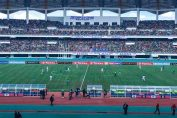 National heroes stadium filled up Zambia vs Guinea